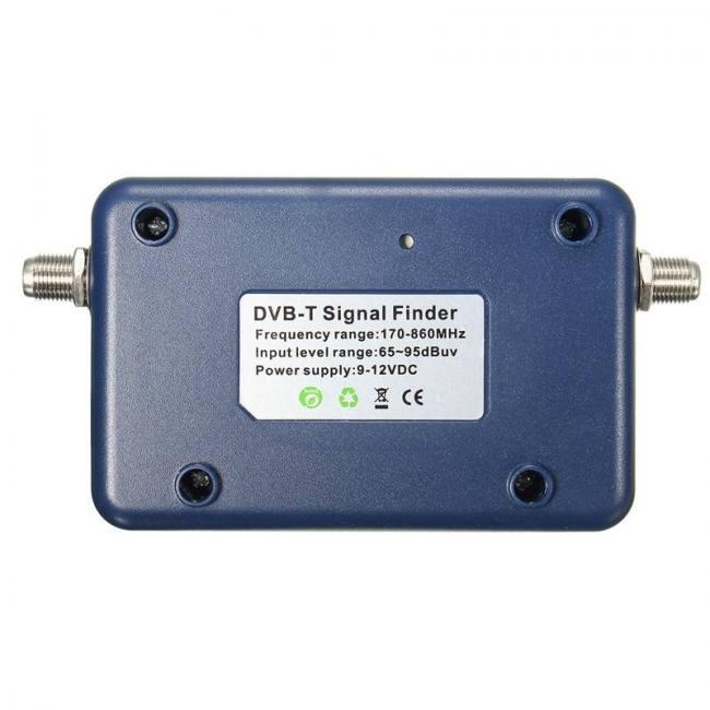 LEORY DVB-T TV Antenna Finder Digital Aerial Terrestrial Signal Strength  Meter Pointer TV Satellite Receiver - Sadoun Sales International
