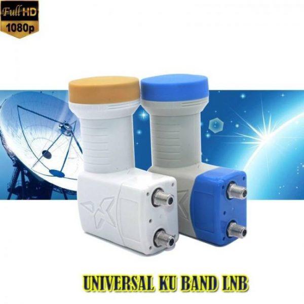 Full hd digital ku-band universal twin satellite lnb