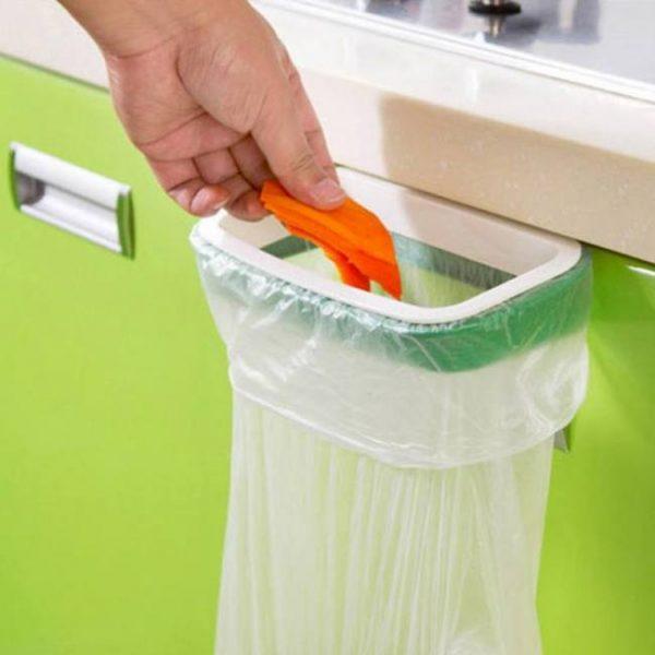Bath Kitchen Organizer Cupboard Door Style Hanger Trash Garbage Storage BathroomAccessory