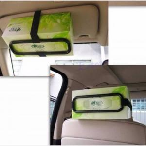 Car sun visor tissue paper box holder auto seat back accessories