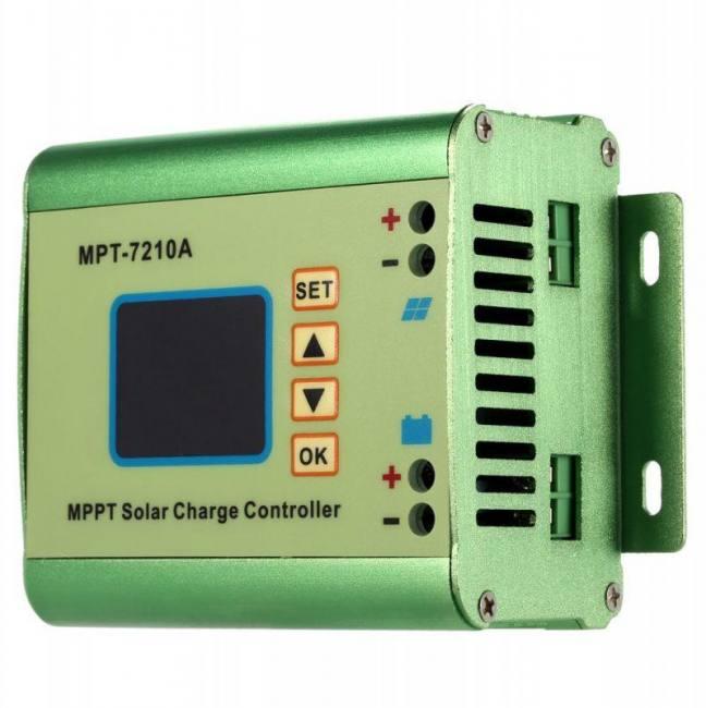10a Mppt Solar Panel Battery Regulator Charge Controller