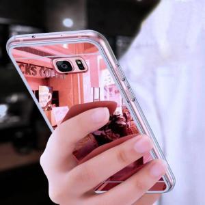 FREE SHIPPING Original Luxury Mirror TPU Cases for Samsung Galaxy Edge Grand Prime Slim Cases