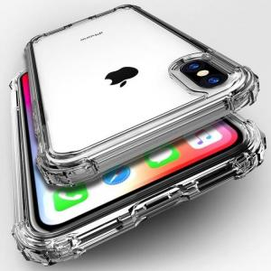 FREE SHIPPING Luxury Shockproof Transparent Silicone Phone Cases For iPhone Models Protection Back Cover Cases