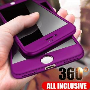 FREE SHIPPING 360 Full Protective For iPhone Models Full Cover Phone Cases With Glass 360