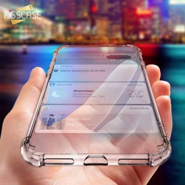 FREE SHIPPING Shockproof Soft Silicone Transparent Cases For iPhone Models Cases