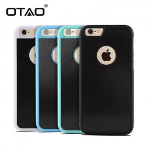 FREE SHIPPING Anti Gravity Phone Bag Case For iPhone X iPhone8 iPhone7 iPhone6S Plus TPU Frame Magical Nano Suction Anti