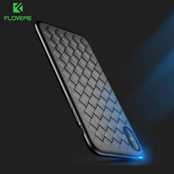 FREE SHIPPING Super Soft Phone Cases For iPhone8 iPhoneX iPhoneXS Max Luxury Grid Cover Silicone Accessories Accessories