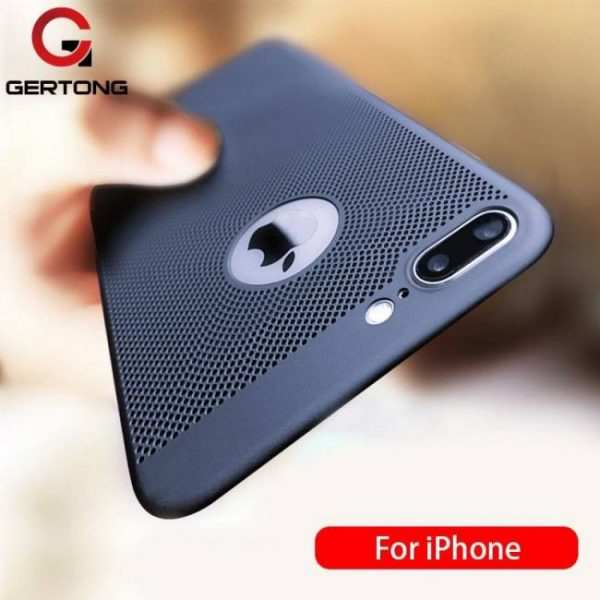 FREE SHIPPING Ultra Slim Phone Case For iPhone 7 iPhone8 Plus Hollow Heat Dissipation Cases 7