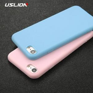 FREE SHIPPING Solid Color Ultrathin Soft TPU Phone Cases For iPhone7 iPhone8 iPhoneX Plus  iPhoneXS Max Cases