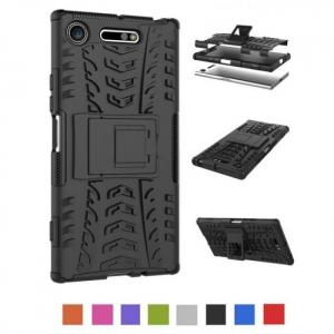 FREE SHIPPING Ultra Compact Shockproof Armor Silicone Case For Sony Xperia Models Cover armor