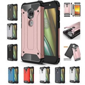 FREE SHIPPING Shockproof Armor Silicone Phone Case For Motorola MotoE5 MotoG4 MotoG5S MotoG6 TPU Back Cover armor