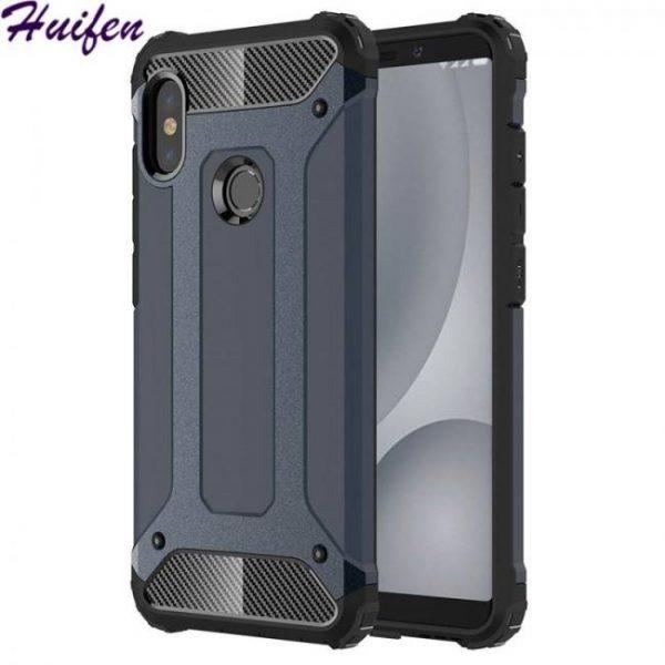 Case pocophone armor cover for xiaomi redminote5 pro redmi note6 note5 6a 8lite