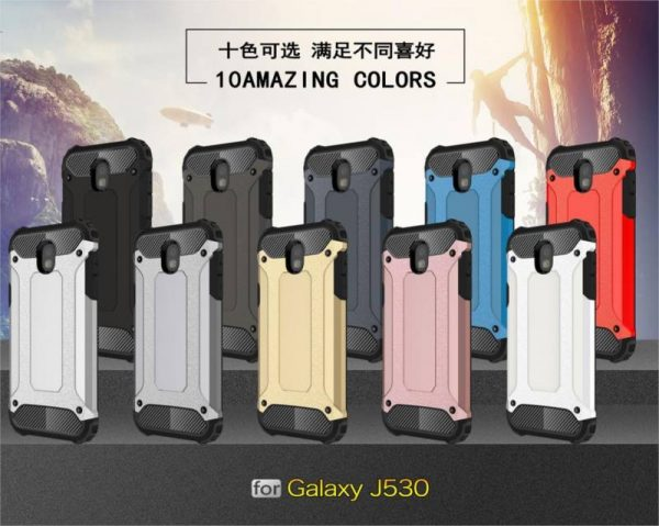 FREE SHIPPING Heavy Armor Hard Cover Silicone Case for Samsung J5 Pro 2017 EU Version 2017