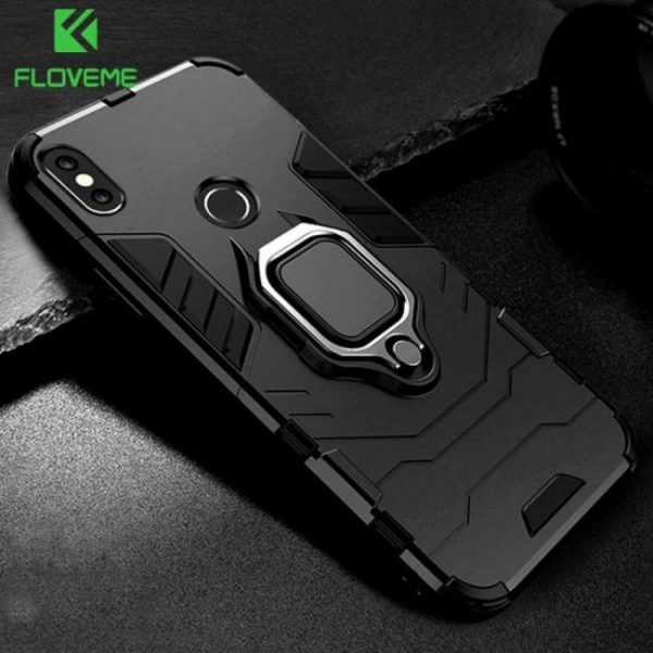 Magnetic ring holder case for xiaomi redmi note 5 redmi 6 pro cover for xiaomi mi a2 xiaomi mi a1
