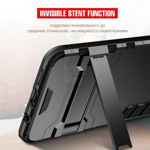 FREE SHIPPING Silicone Holder Phone Case Luxury Armor Shockproof For HuaweiHonor10 HuaweiHonor8x HuaweiHonor9Lite Back Cover For Huawei Honor 8x Max 8x