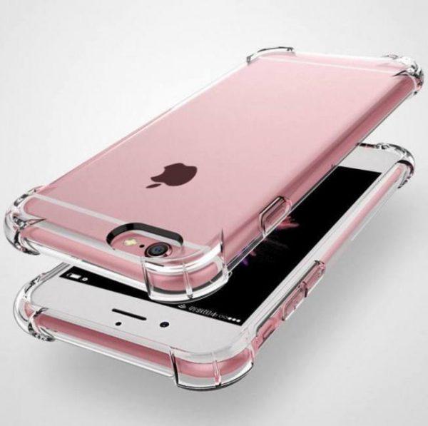 Crystal shockproof cover transparent soft tpu cases for iphone7 iphonexs iphonemax iphonexr iphone8plus iphonex