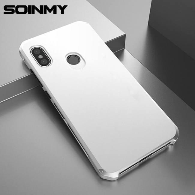 half off 7adfa d9606 Case Aluminum Metal Frame Shockproof Armor Phone Accessories For Xiaomi  Redmi Note5 Xiaomi Redmi Note6pro