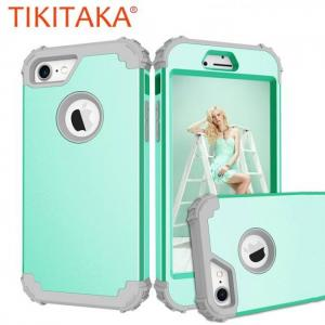 FREE SHIPPING Shockproof Phone Cases For iPhone6 iPhone6S iPhone7Plus Durable PC+TPU 3 Layers Hybrid Full Body Protect 3