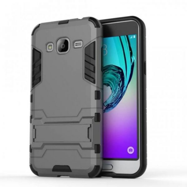 FREE SHIPPING Shell Cover Rubber Case Robot Armor Hard Back Phone Case for Samsung Galaxy J3 Cover armor