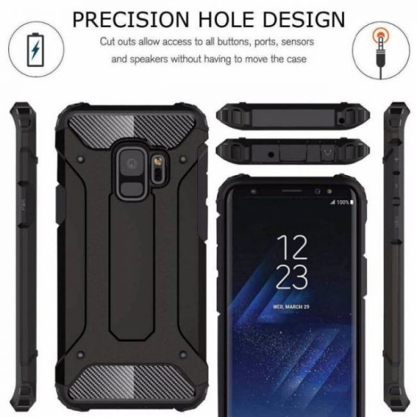 FREE SHIPPING Luxury Tough Defender Armor Phone Case For Samsung GalaxyS9 GalaxyS8Plus GalaxyS7 Shockproof Protective Cover armor
