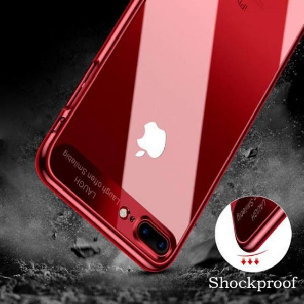 FREE SHIPPING Shockproof Hybrid Hard Plating Back Cover for iPhone6 iPhone6s iPhone7Plus 6