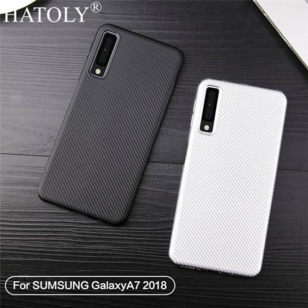 FREE SHIPPING For Phone Case Samsung Galaxy A7 2018 Case Rubber Armor Phone Cover 2018