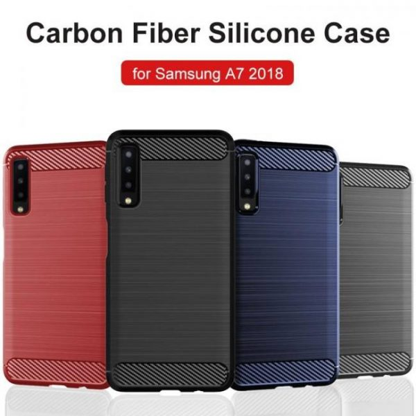 FREE SHIPPING For Samsung Galaxy A7 Case Silicone Rugged Armor Soft Back Cover Case a7
