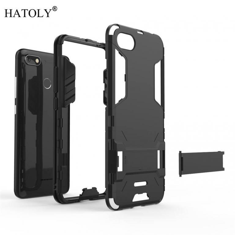 Cover xiaomi case rubber robot armor phone shell hard back phone case for xiaomi redmi 6a