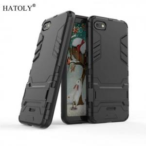 FREE SHIPPING Cover Xiaomi Case Rubber Robot Armor Phone Shell Hard Back Phone Case for Xiaomi Redmi 6A 6A