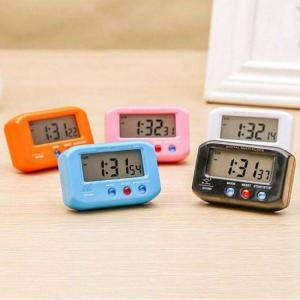 Digital backlight led display table alarm clock