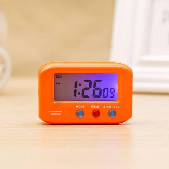 Digital backlight led display table alarm clock