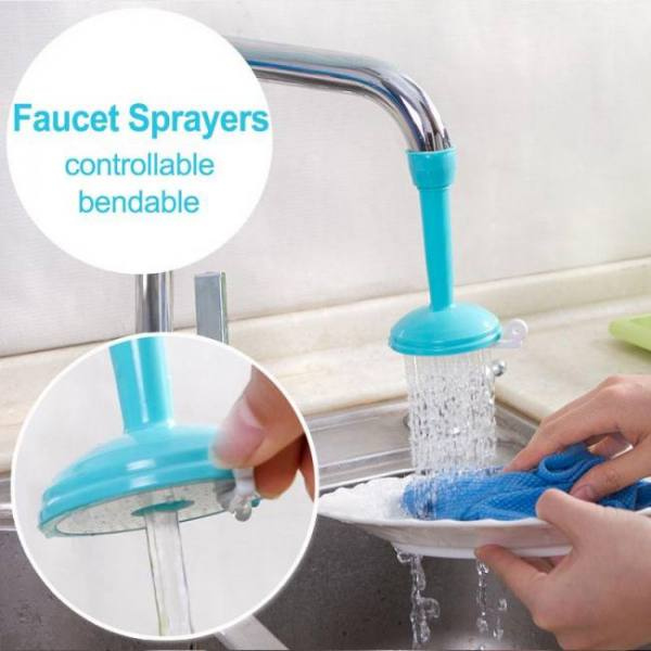 Water saving faucet filter nozzle kitchen sprayers
