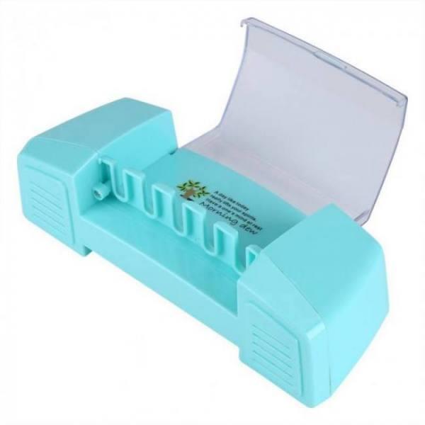 Bath Toothpaste Storage Toothbrush Holder Organizer Storage Box Bathroom bathroom