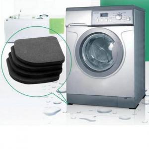 Bath 4pcs Multifunctional Non-Slip and Shock Pads Anti-Vibration For Refrigerator Washing Machine Anti-vibration