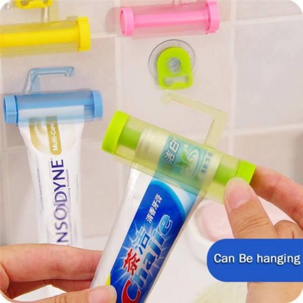 Bath Bathroom Set Accessories Rolling Tube ToothPaste Squeezer bathroom