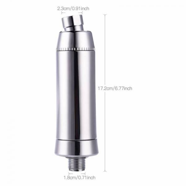 Bath Activated Carbon Shower Filter Bathroom  Harmful Chemicals Contaminants Water Purifier Filter Activated