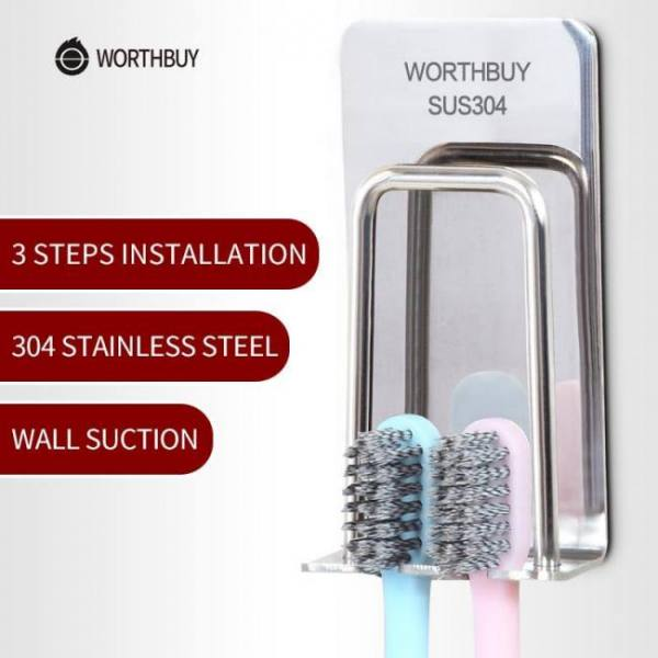 Toothbrush holder 304 stainless steel bathroom accessories