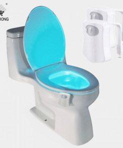 Toilet seat led light human automatic lamp motion sensor