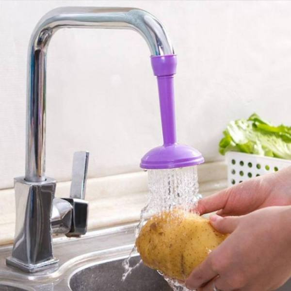Creative water saving faucet sprayers adjustable tap filter for kitchen