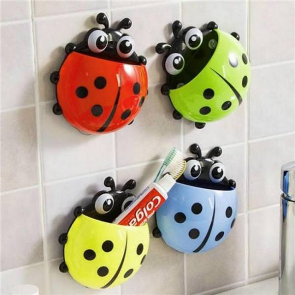Bath Ceative Cartoon Animal Toothbrush Holder Bathroom Products Accessories Accessories