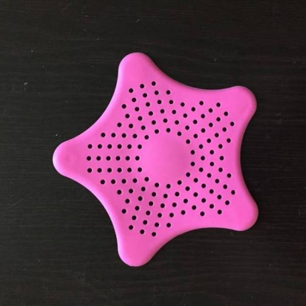 Silicone suckers colanders for kitchen bathroom sink accessories to filter hair strainers