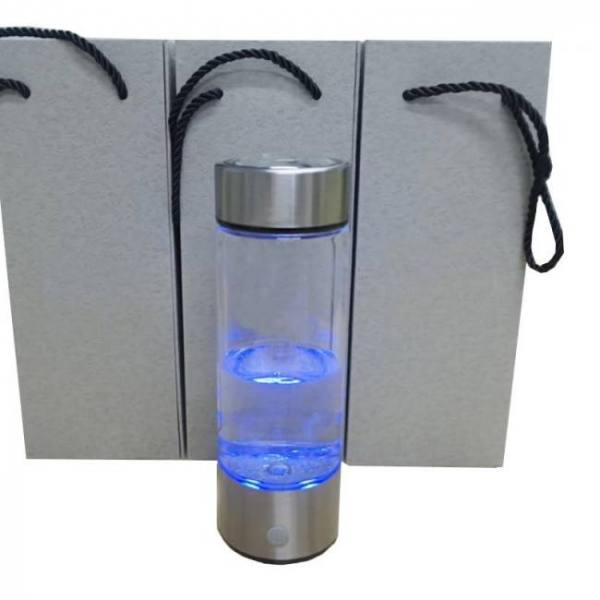 600ml portable generator ionizer for pure h2 rich hydrogen water bottle