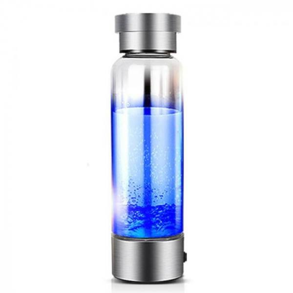 350ml portable generator ionizer for pure h2 rich hydrogen water bottle