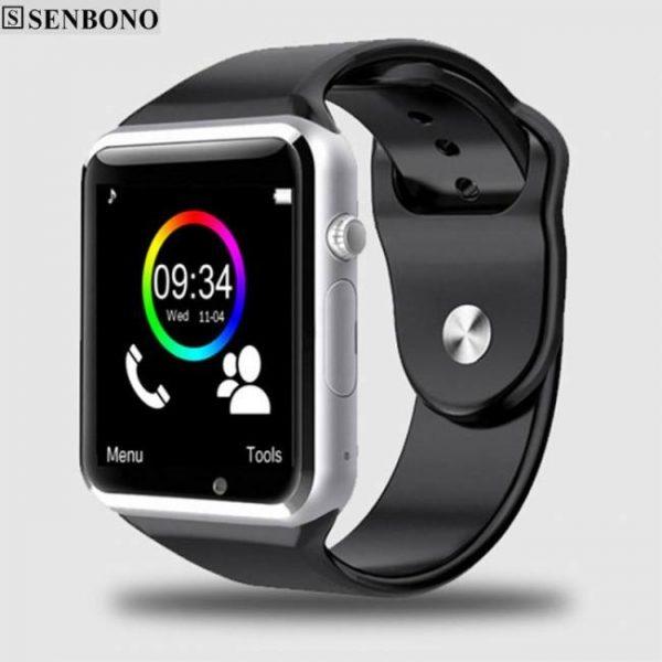A1 bluetooth sport pedometer smart watch with sim camera smartwatch