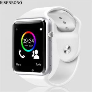 A1 bluetooth sport pedometer smart watch with sim camera smartwatch