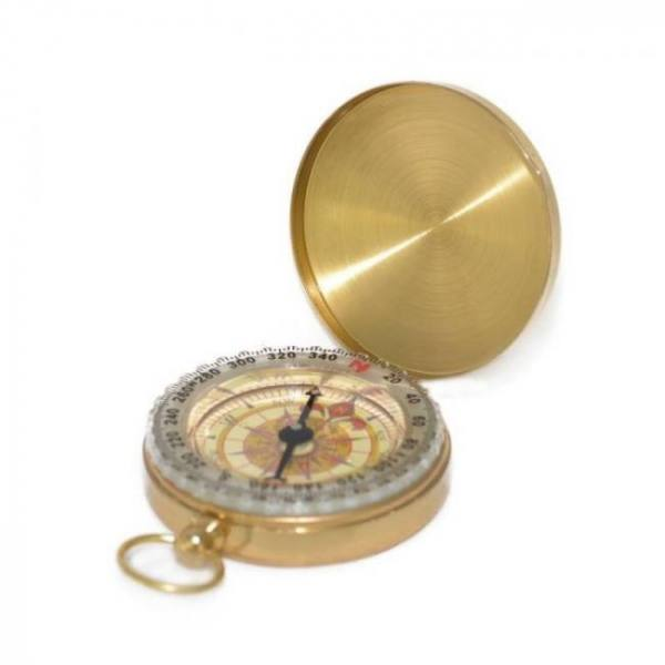 Camp & Survive Luminous Camping Pocket Compass which is plated with Copper Glow in the Dark Survival Gear can be used for Hiking Climbing Travel AnalogWatch