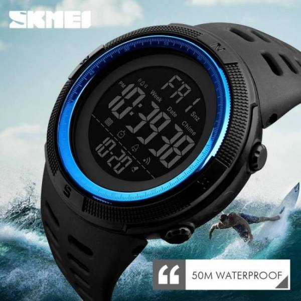Diving and Snorkeling Men's Sports Luxury Military Watches For Men Outdoor Electronic Digital Watch 50M