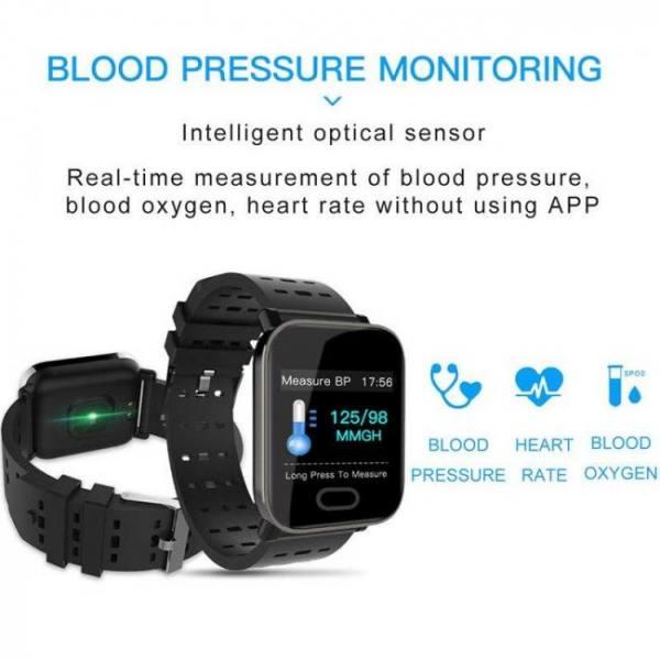 Smart bracelet wristbands for fitness waterproof tracker watch blood pressure measurement