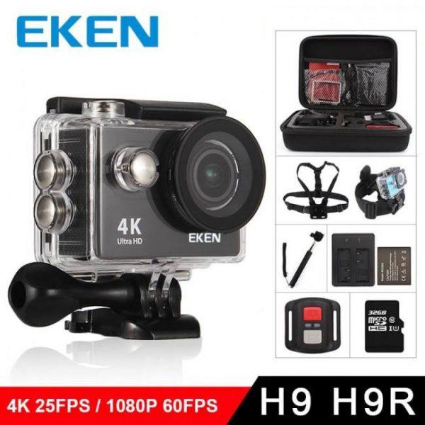 Eken h9r / h9 action camera ultra hd 4k / 25fps wifi 2.0″ 170d underwater waterproof helmet video recording cameras sport cam