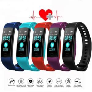 FREE SHIPPING SFPW-7 Fitness Smart Pedometer Health Activity Monitor Pulsometer BP Bluetooth Bracelet Watch 50M